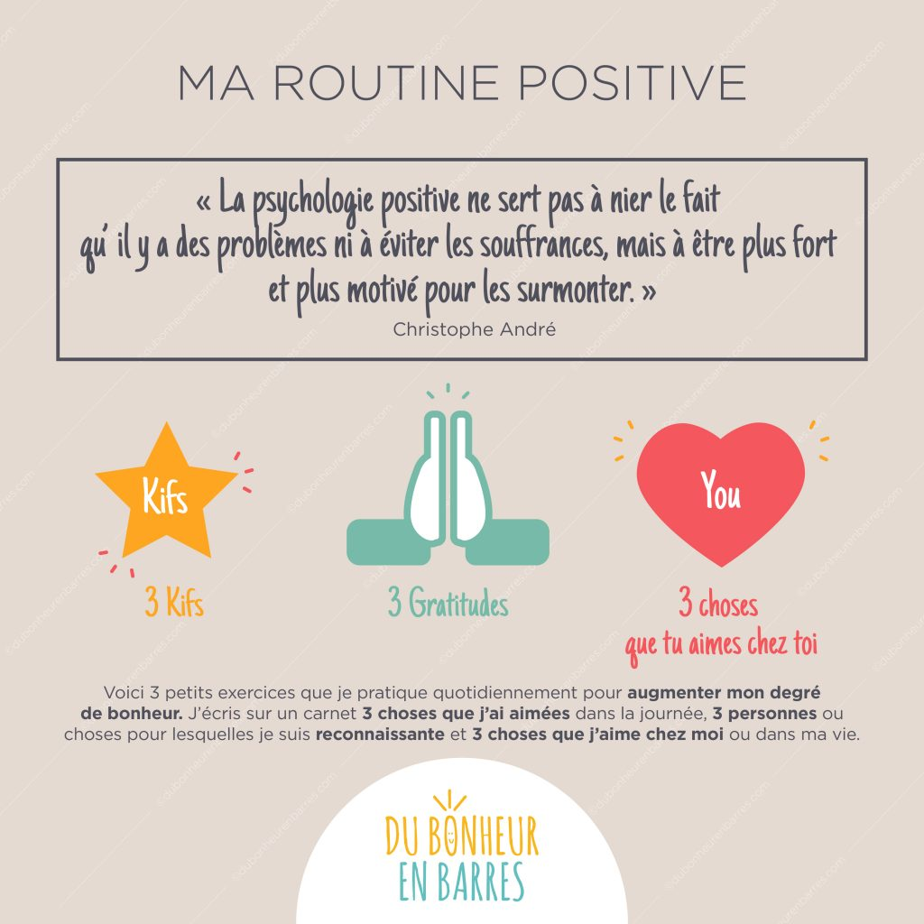 ma routine positive