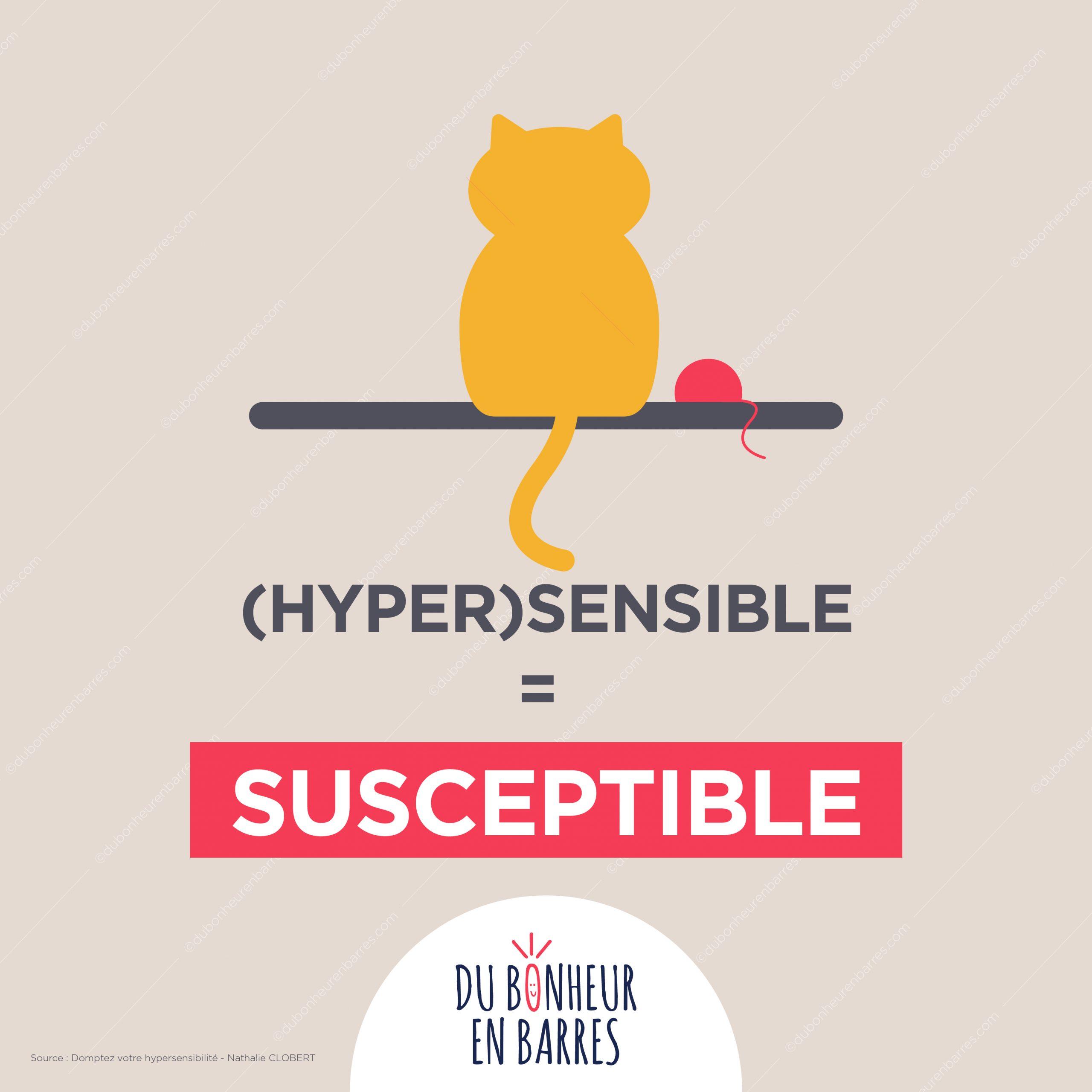Hypersensible = susceptible