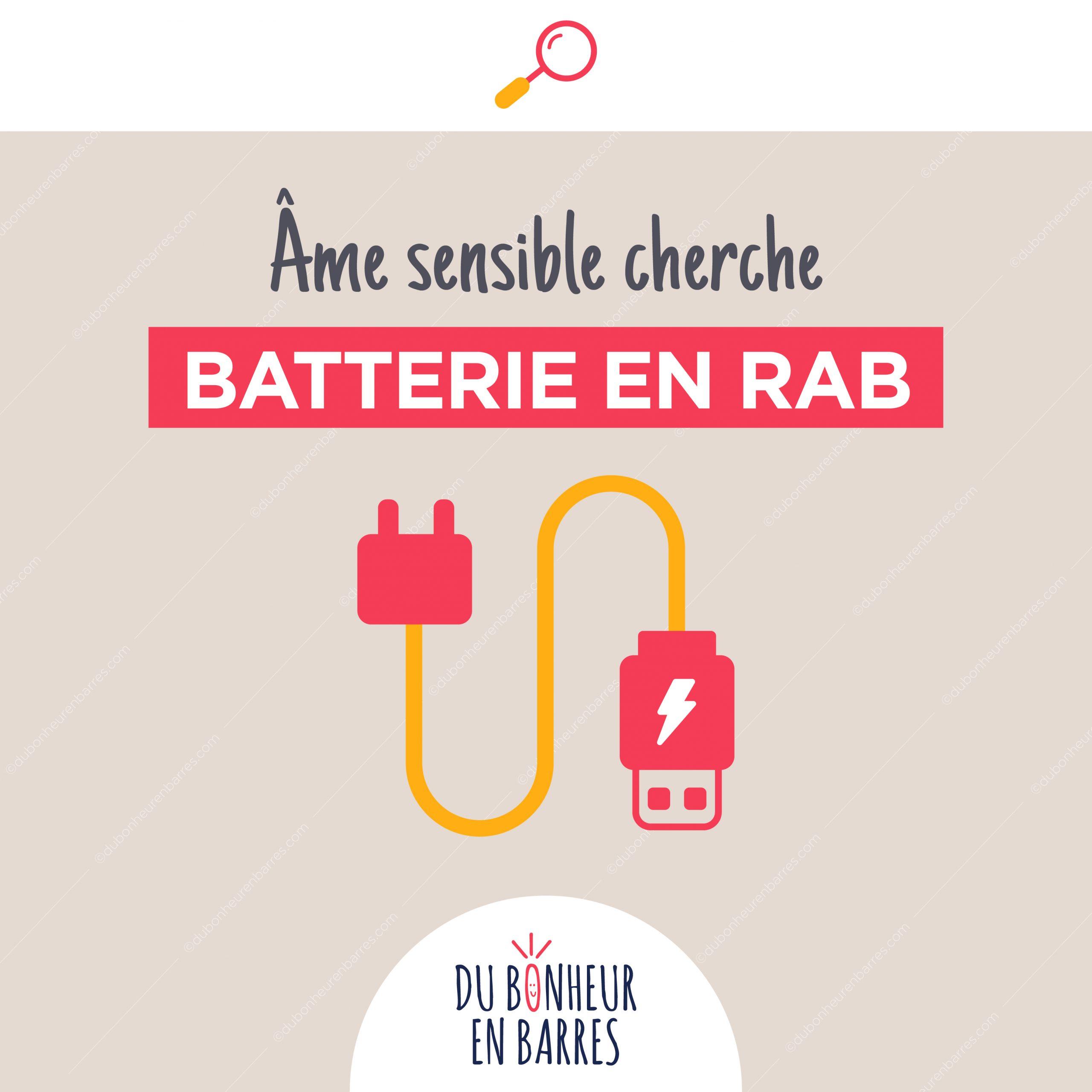 Hypersensible cherche batterie en RAB